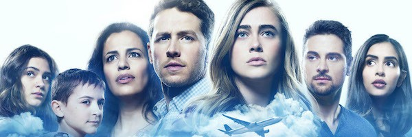 Promotional poster for the new drama and sci-fi series 'Manifest' on NBC.