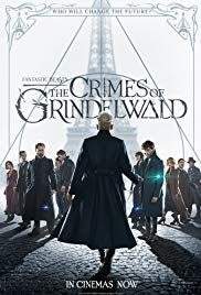 Movie poster for Fantastic Beasts: The Crimes of Grindelwald.