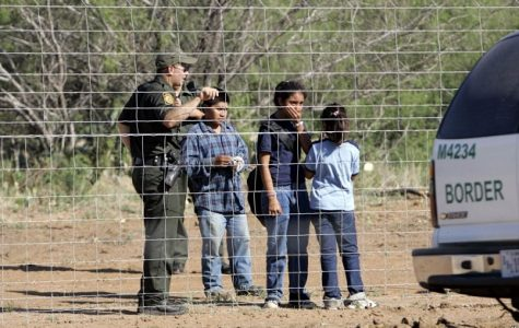 Children separated from their parents by border control at the United States border.
