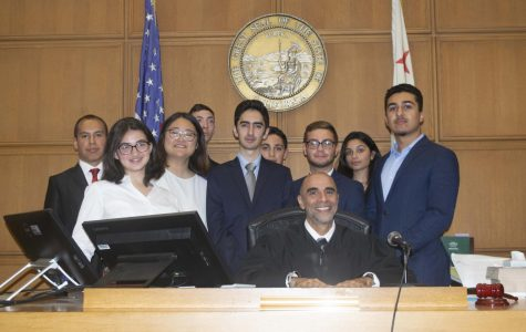 Speech and Debate students compete in the annual Mock Trial competition