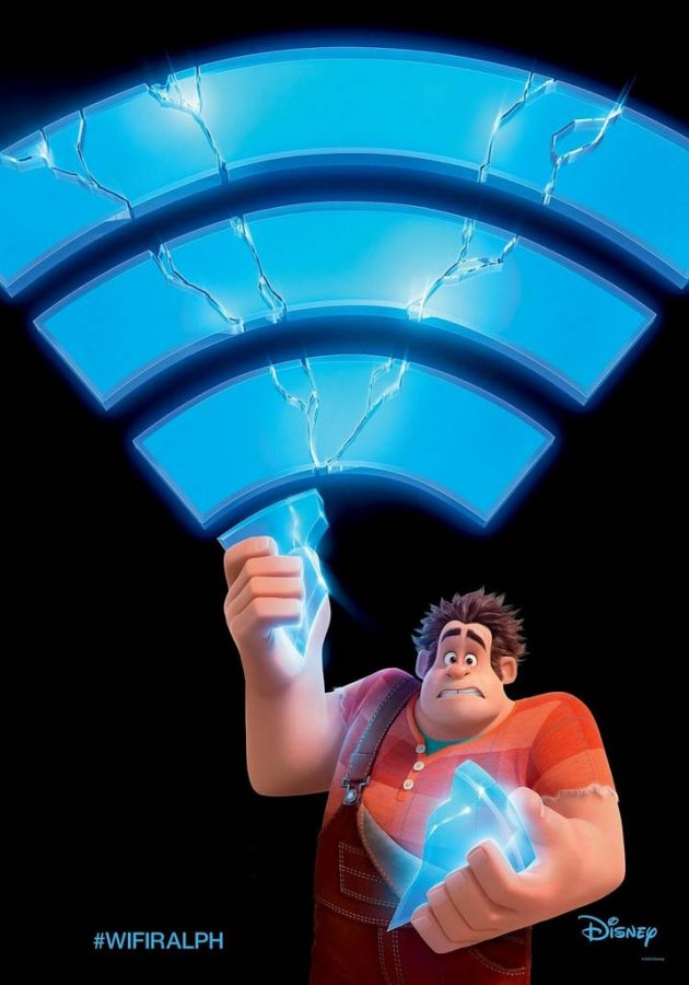 Promotional poster for Ralph Breaks the Internet.