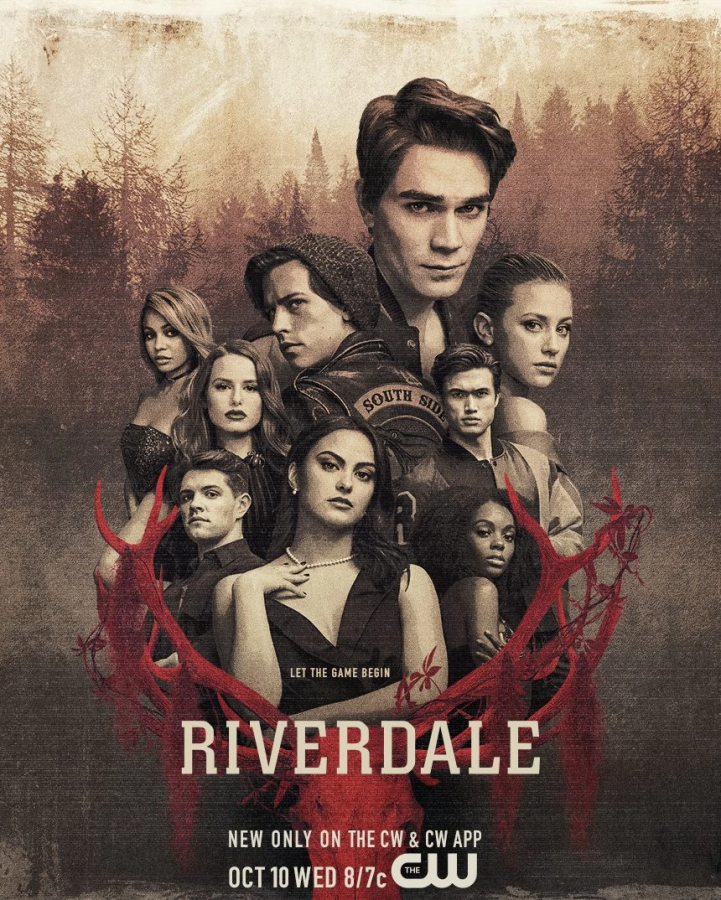 The+new+%27Riverdale%27+poster+promoting+the+show%27s+third+season+and+the+main+cast+of+the+show.