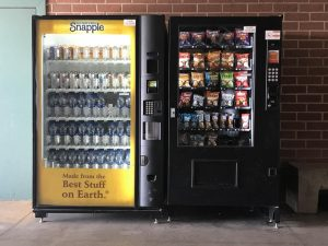 Vending machines should be allowed in schools.