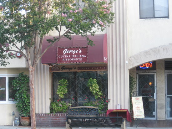 The outside view of George's  Cucina Italiana.