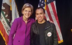 Elizabeth Warren rallies for 2020 at the Alex Theatre