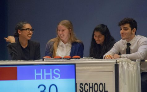 Clark keeps guests on the edge of their seats at Scholastic Bowl competition