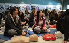 CPR training takes place at Clark