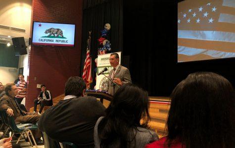 California Secretary of State visits Clark to celebrate High School Voter Education Week