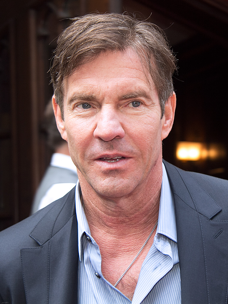 Actor Dennis Quaid, who plays Charlie in the movie.