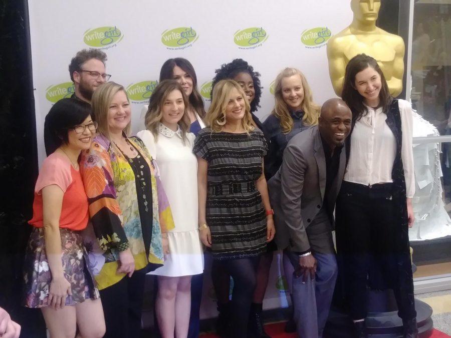 Some celebrities attend the Lights, Camera, WriteGirl! event in April.