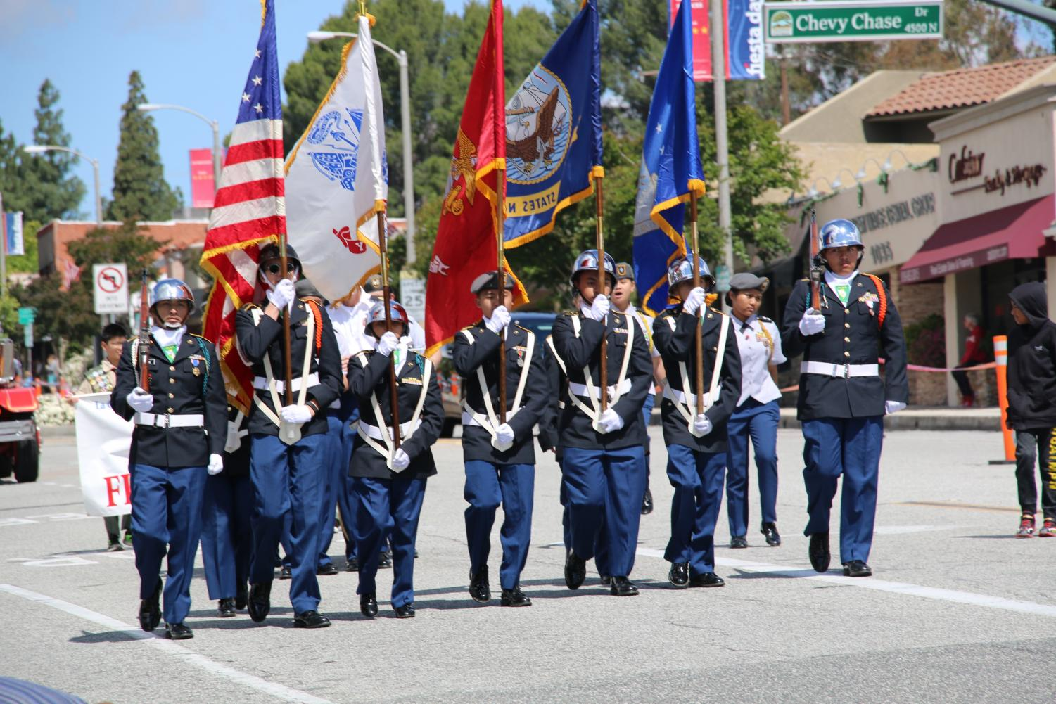 The Fiesta Days parade is hosted on Memorial day every year in La Canada.