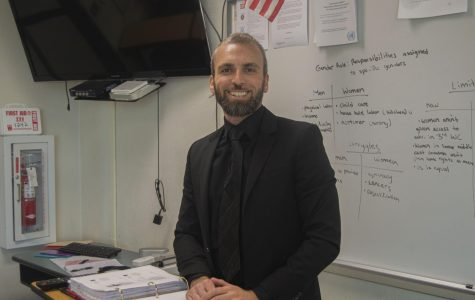 A new teacher in Clark's history