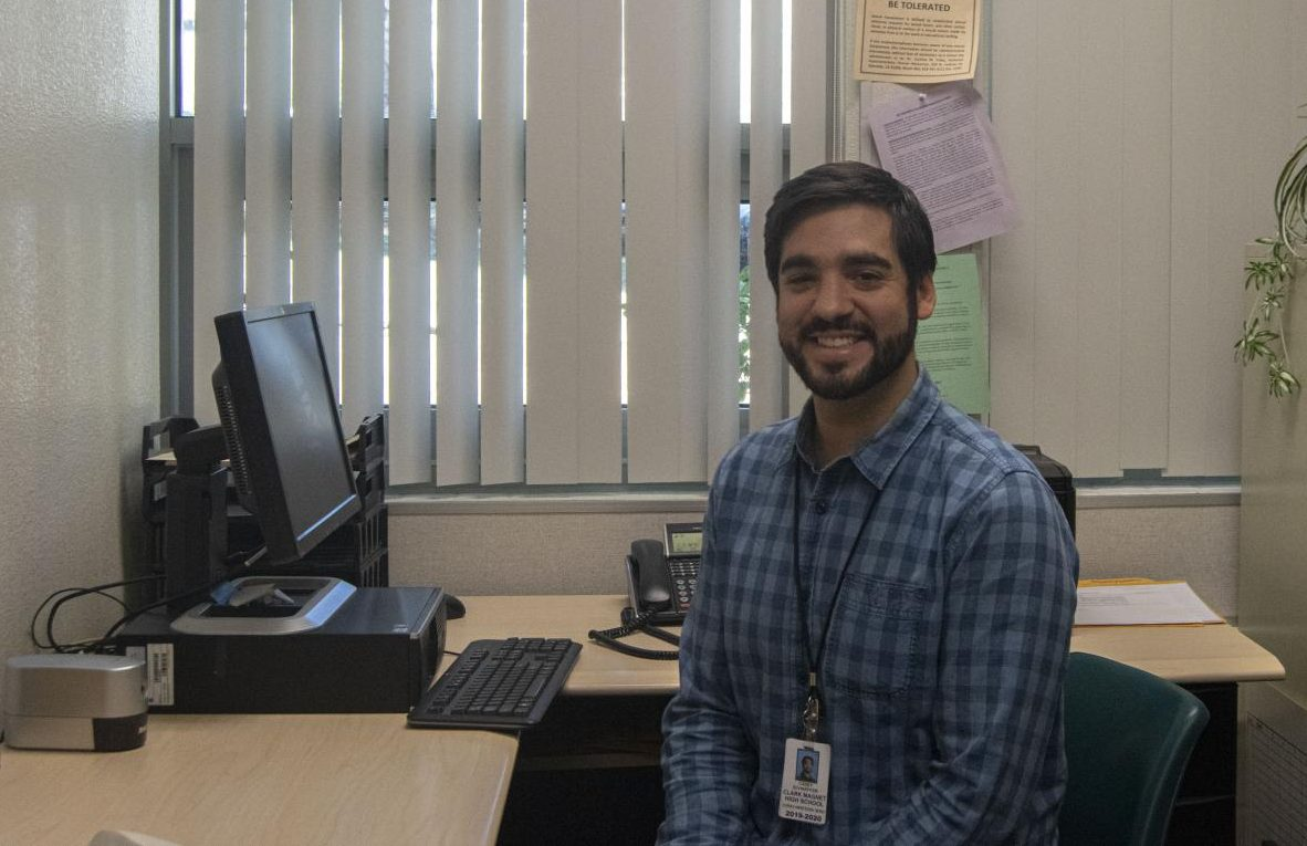Schaeffer is grateful to be a new addition to Clark's staff.