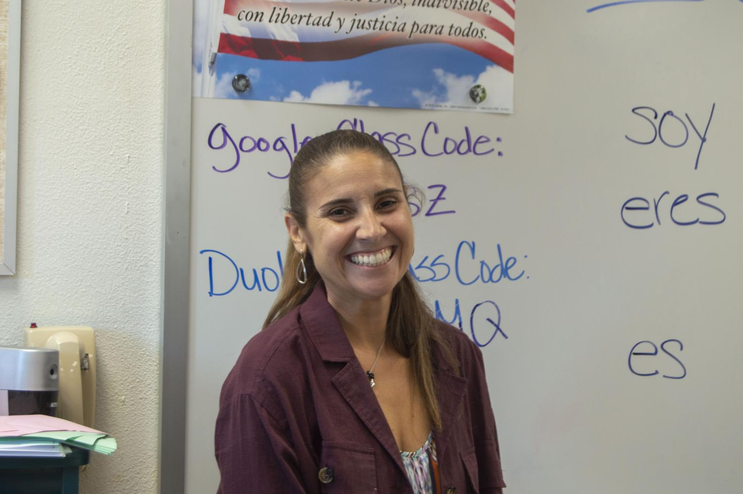 Snyder is Clark's newest addition to the Spanish department.