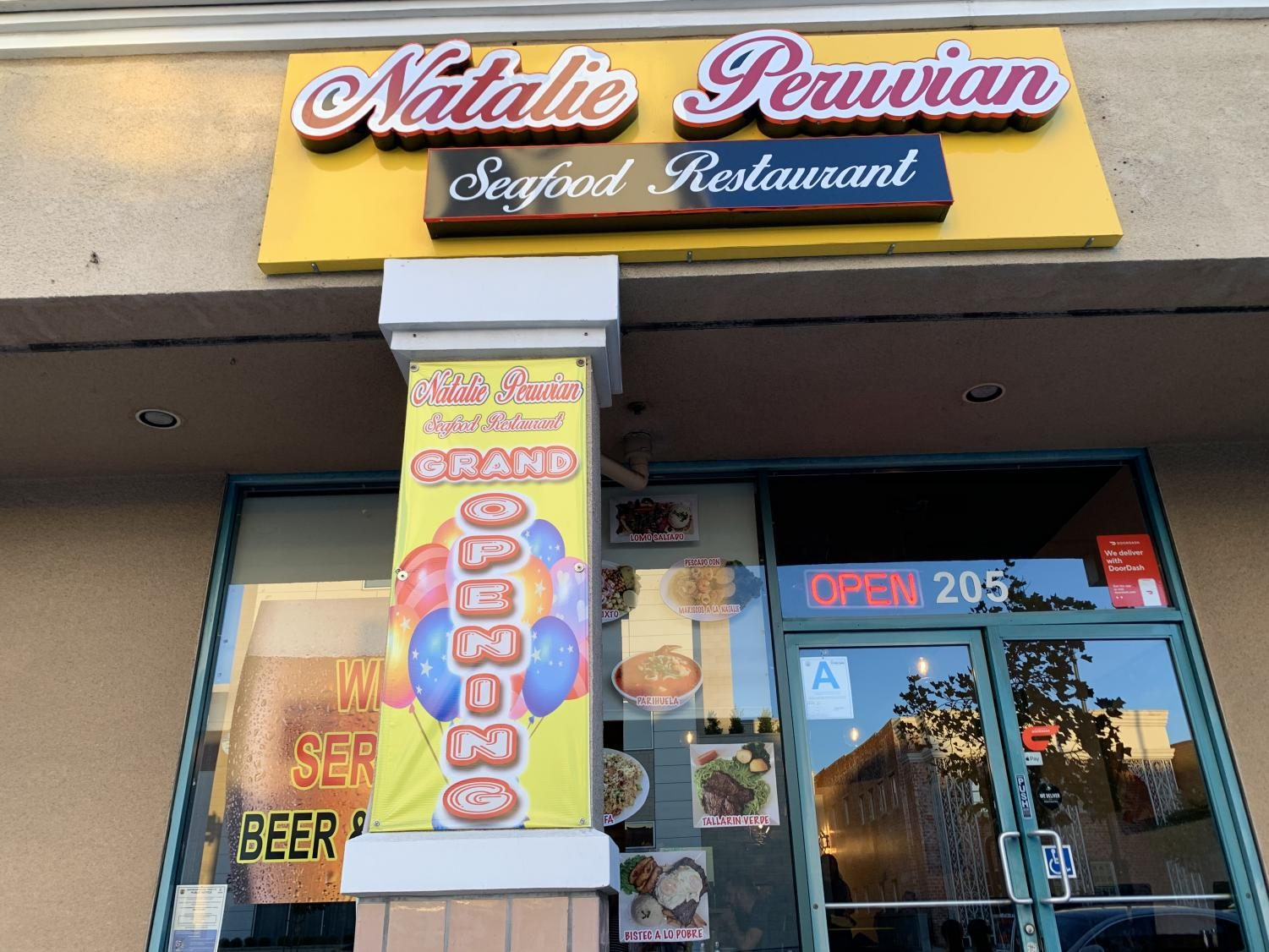 Natalie Peruvian Seafood Restaurant has just recently opened in Glendale, with a variety of delicious dishes to offer.