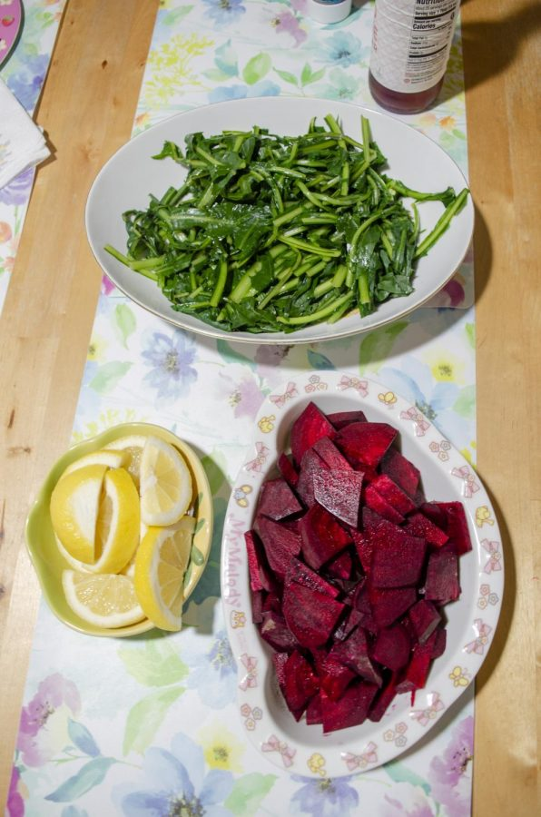 Going waste-free also means moving towards a healthier diet, as most junk foods use plastic bags or leave behind waste. I began eating more vegetables and explored other options that were outside my comfort zone like dandelion greens and beets.
