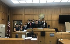 Clark Magnet's Mock Trial team scores an exhilarating victory in round two