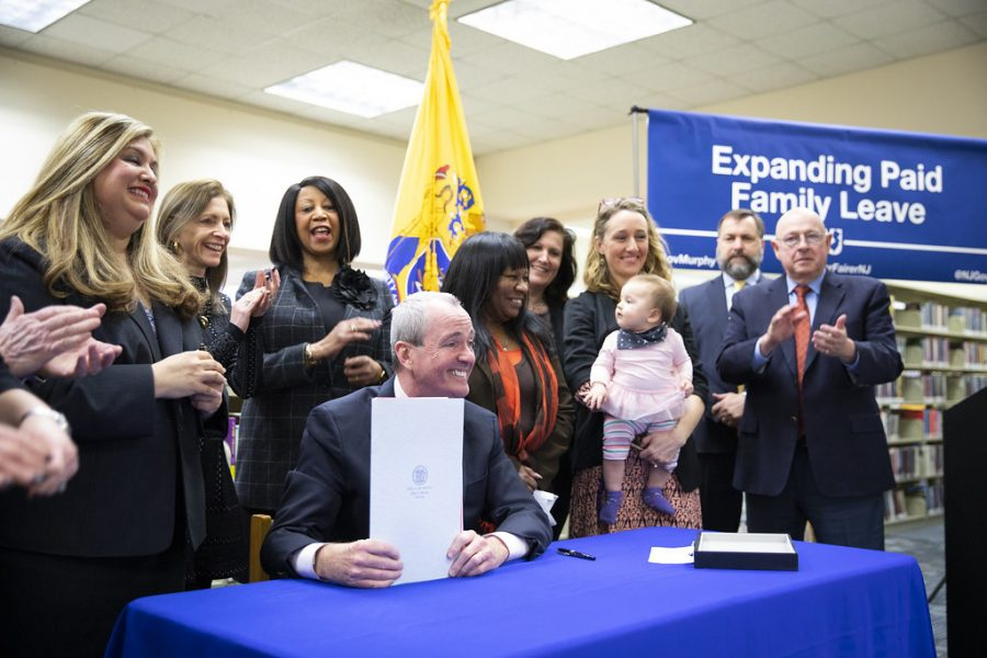 Governor Phil Murphy of New Jersey signed into law to expand the paid family leave act to provide more protection of jobs.