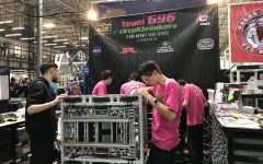 Team 696 competes in their first competition of the year