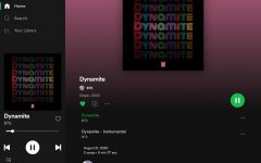 "BTS' new hit song ""Dynamite"" is now available on all streaming services and has successfully broken multiple records."