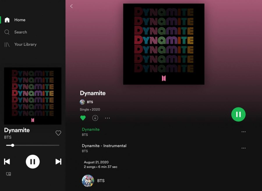 BTS%E2%80%99+new+hit+song+%E2%80%9CDynamite%E2%80%9D+is+now+available+on+all+streaming+services+and+has+successfully+broken+multiple+records.+