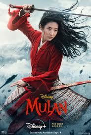 "Liu Yifei plays ""Mulan"" in the new live-action film."