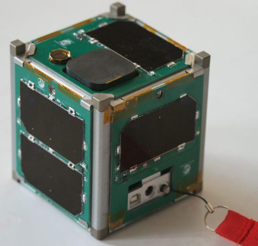 Clark is one of five finalists in the CubeSat challenge