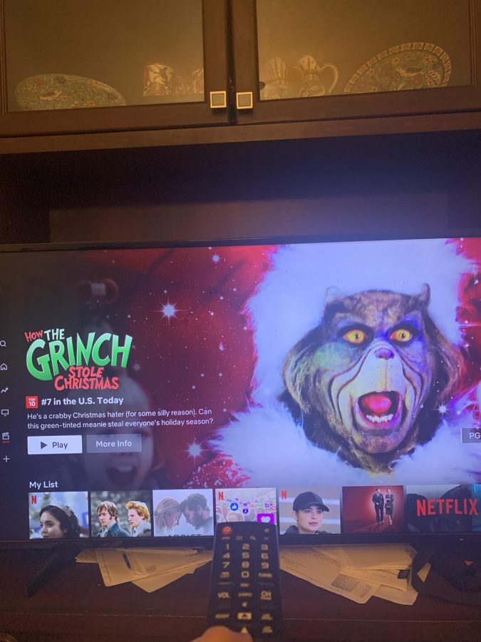 A typical Netflix movie feed, which can be tailored to your likings and interests.