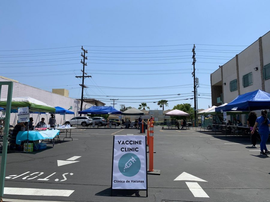 LA County starts vaccine distribution