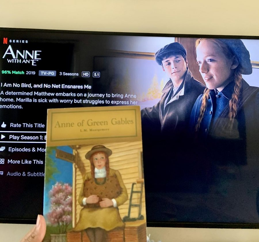 """The book Anne of Green Gables was adapted into the Netflix TV series """"Anne with an E."""