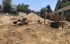 Construction is currently taking place at Clark's campus in hopes of having a new building by Spring 2022.
